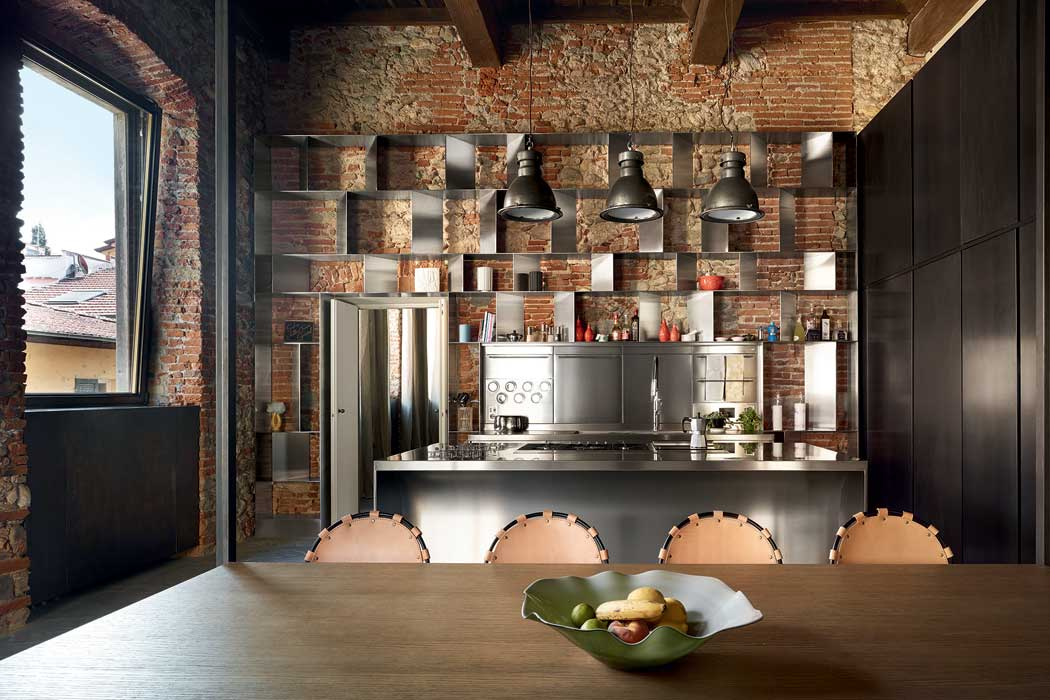 Beautiful cucine stile industriale photos ideas design for Look industriale per case
