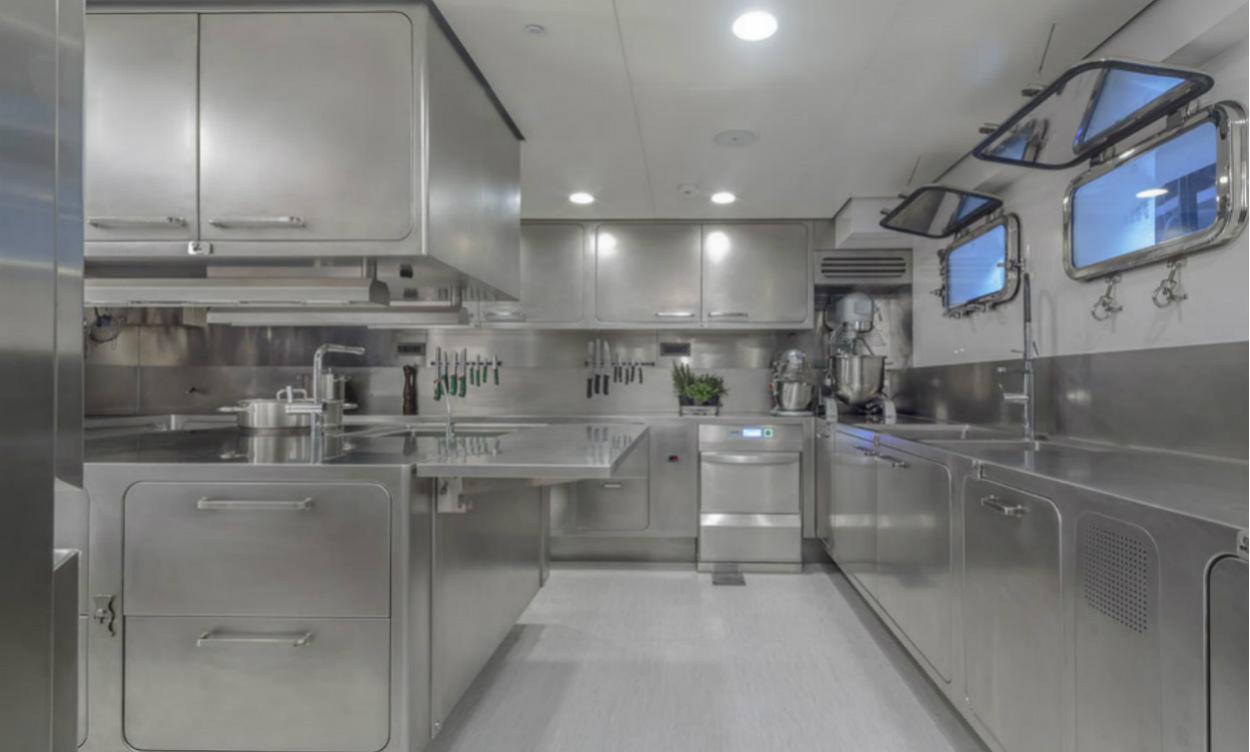 Cucina per yacht